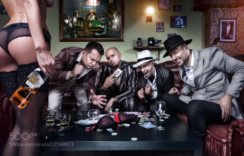 Photograph Poker Night by Daniel Ilinca on 500px