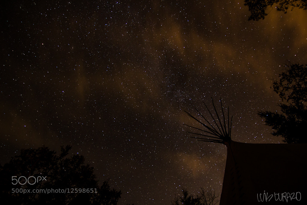 Photograph Camping Teepe by Luis Durazo on 500px