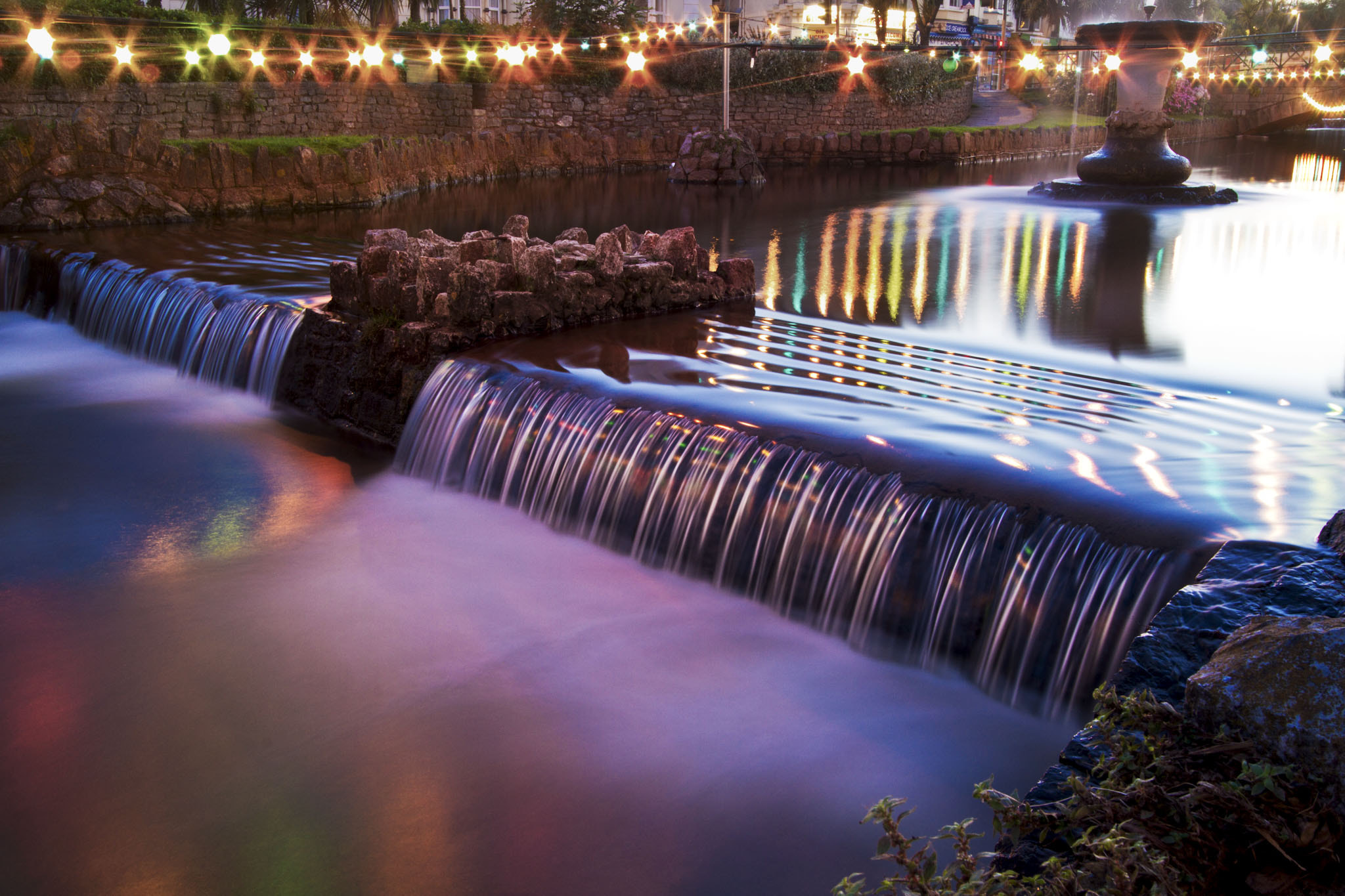 Photograph Dawlish water at night by Steven Ellis on 500px