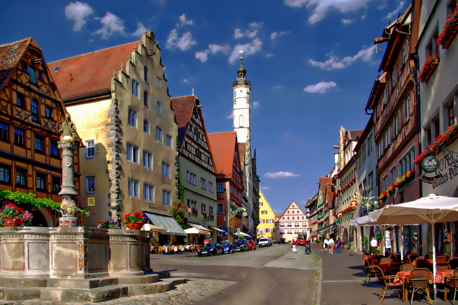 Rothenburg ob der Tauber by Anthony Dezenzio on 500px.com