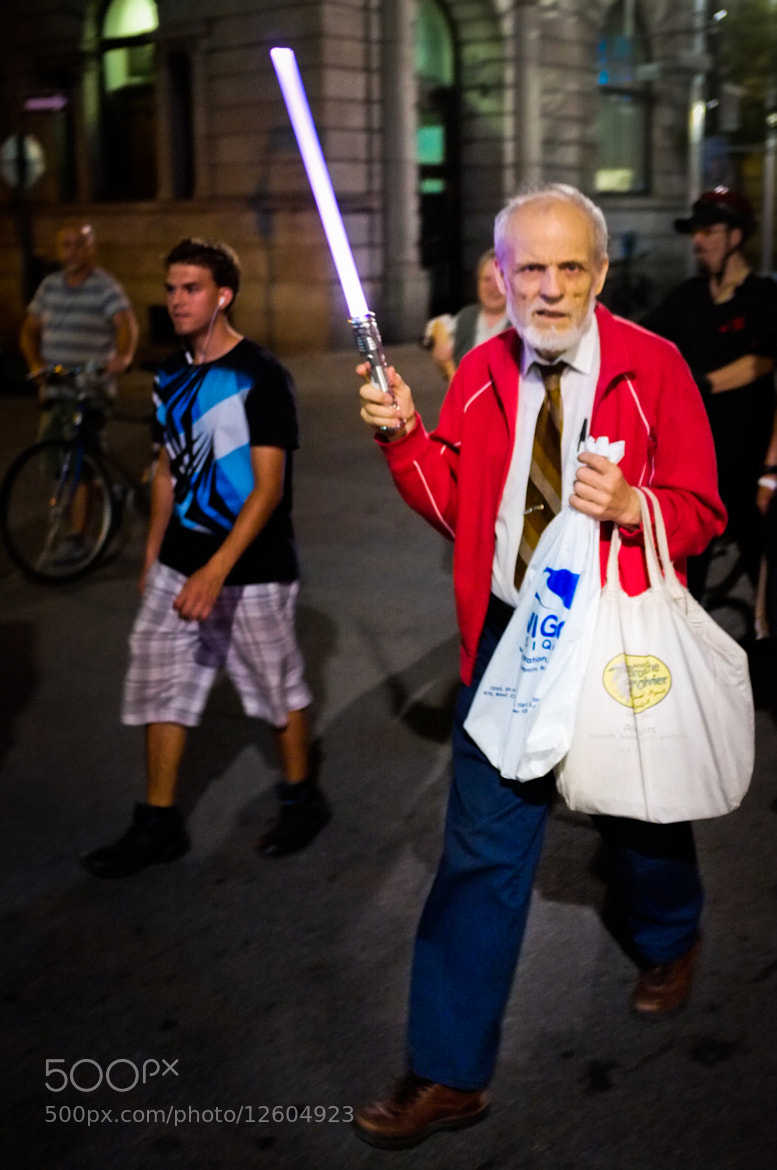 Photograph student protestor or Jedi by Steve Wood on 500px