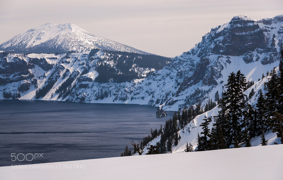 Photograph The Phantom Ship at Crater Lake by Eric Leslie on 500px