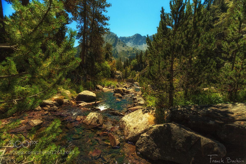Photograph Cascade d'Aumar by franck bachere on 500px