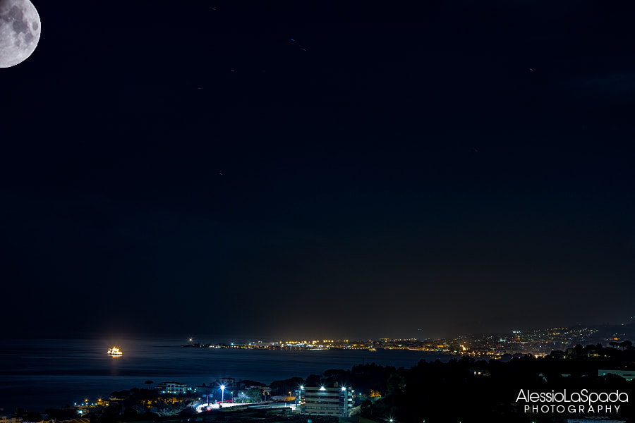 Photograph Night in Messina  by Alessio La Spada on 500px