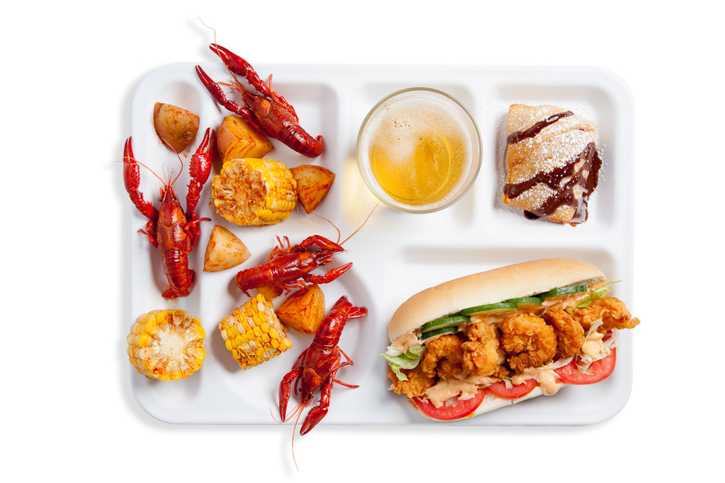 Photograph Big Easy Lunch Tray by Jonathan Gayman on 500px