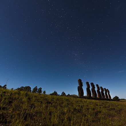 Ahu a Kivi III - Chile, Rapa Nui