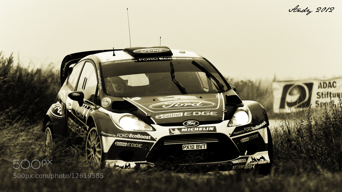 Photograph Petter Solberg WRC 2012 Germany by Andreas Schönhofen on 500px