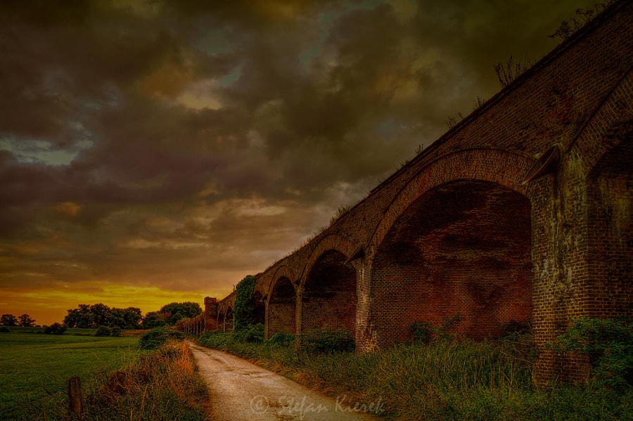 Old bridge in Wesel