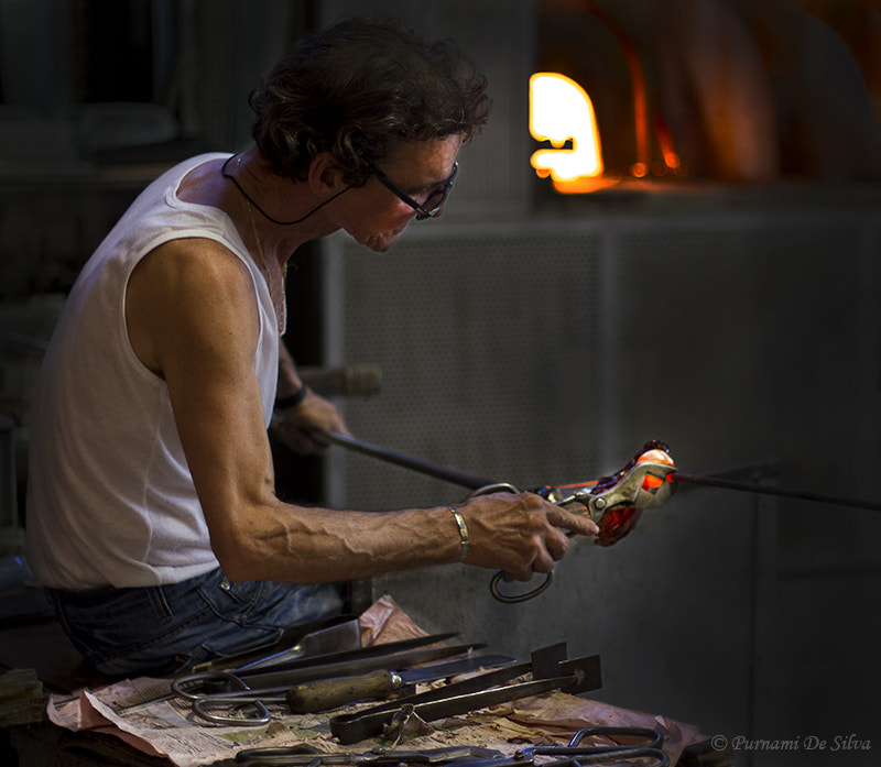 Photograph  The Glass blower by Purn DeSN on 500px