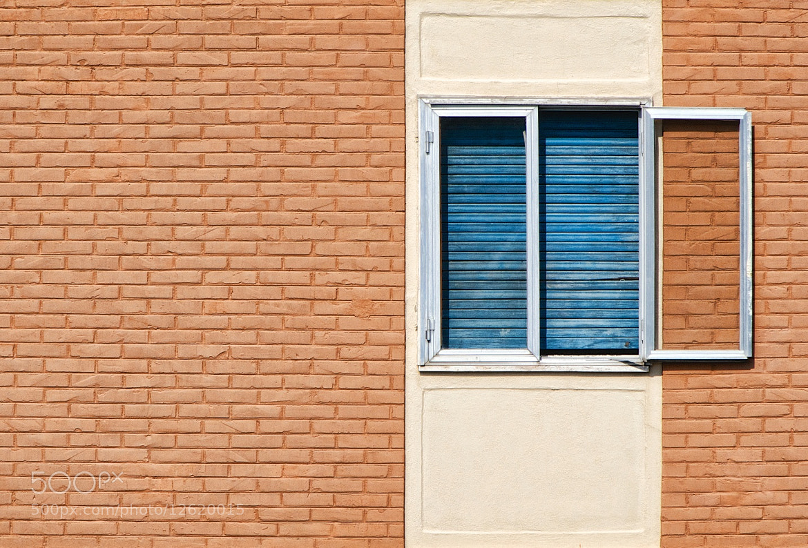Photograph Window on a brick wall by Rosario Manzo on 500px