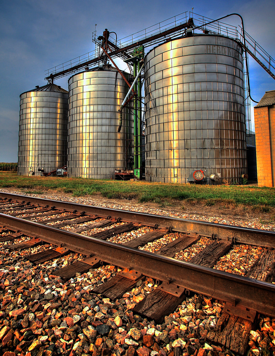 Photograph silo #3 by Parker Mitchell on 500px
