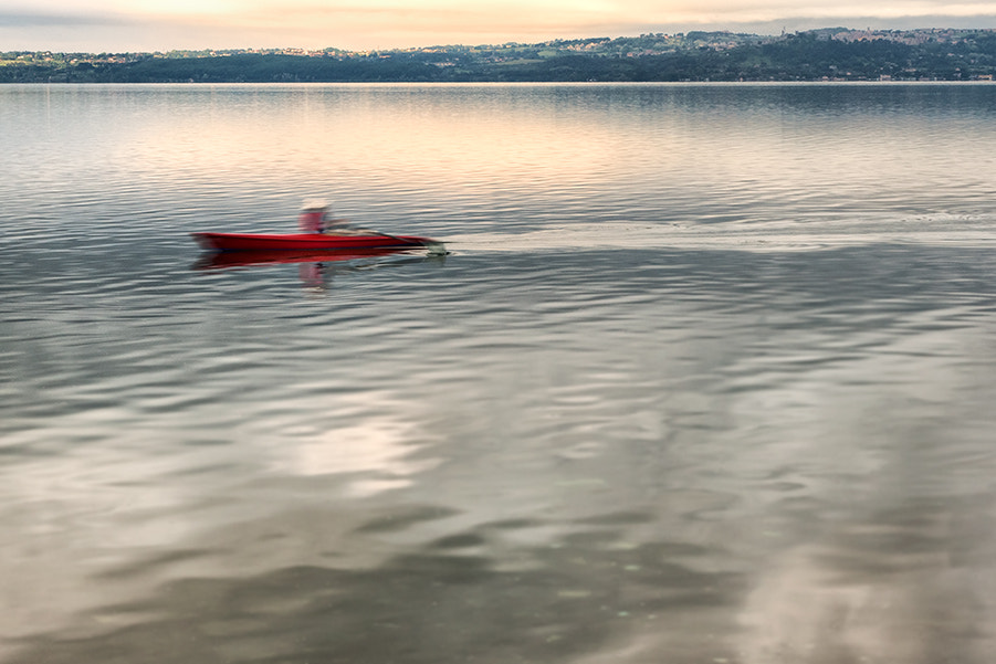 Photograph Red - On the lake by Piero Imperiale on 500px