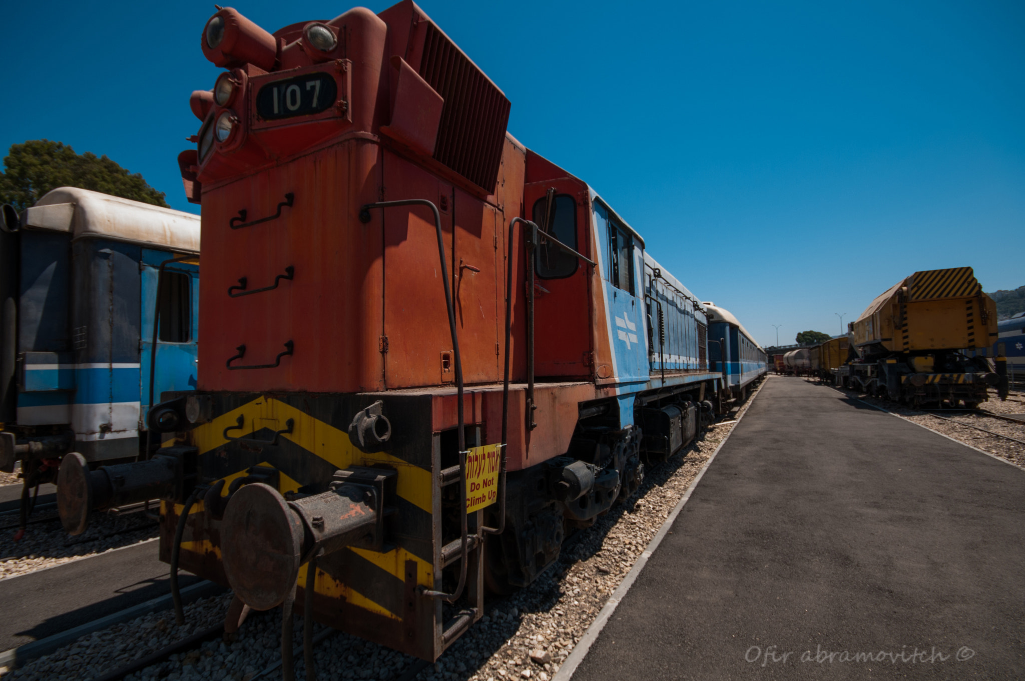Photograph The Israel Railway museum #3 by Ofir Abramovitch on 500px