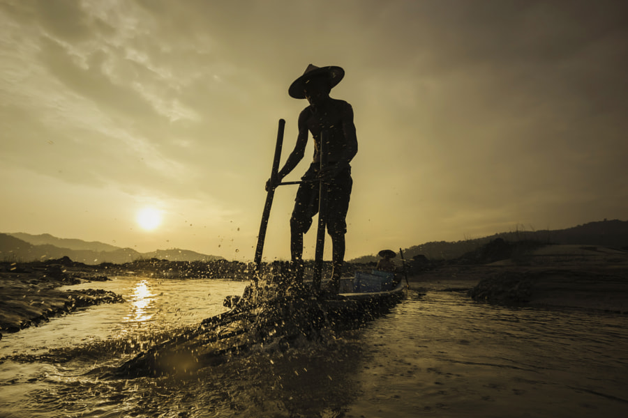 Fishermen Life by Visoot Uthairam on 500px.com
