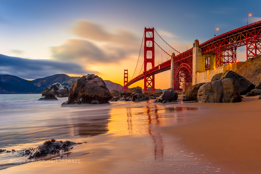 Photograph Golden Gate Bridge by Roman Dmytrenko on 500px