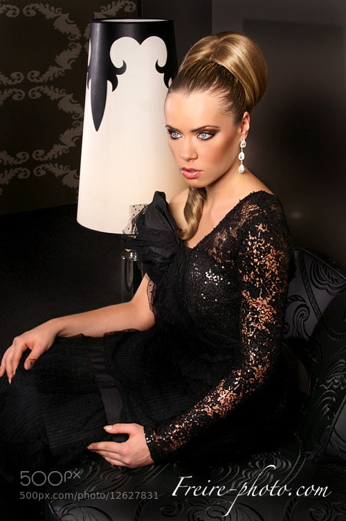 Photograph famous slovak actress dressed by top fashion designer by Jan Freire on 500px