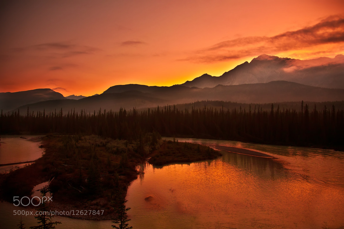 Photograph Sunrise in British Columbia by Judicael  Aspirot on 500px