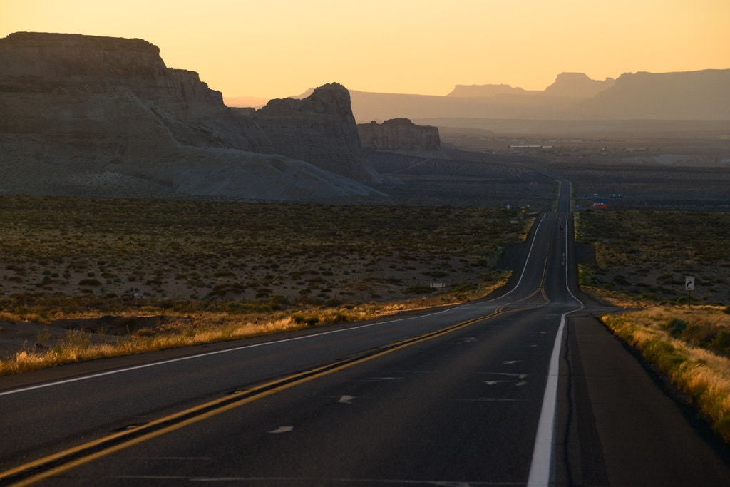 Photograph American Road by Jean-noel Viltard on 500px