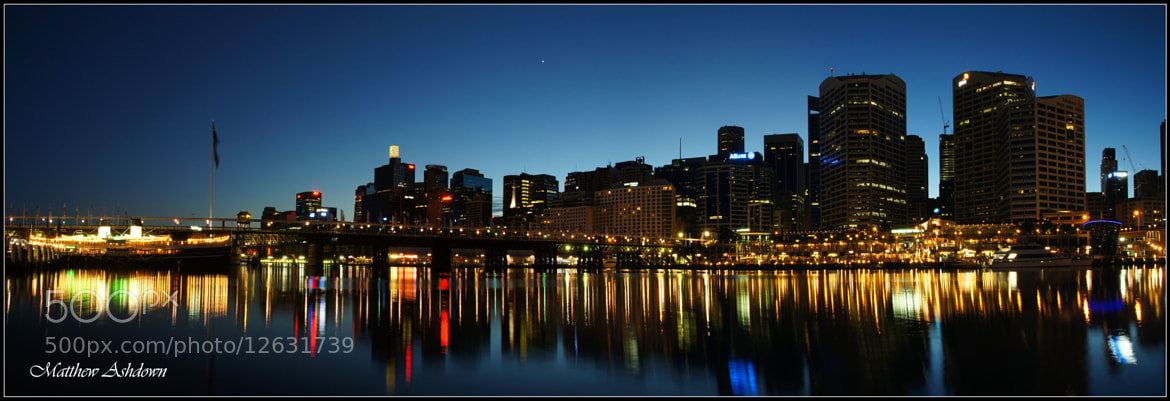 Photograph Darling Harbour Twilight by Matthew Ashdown on 500px