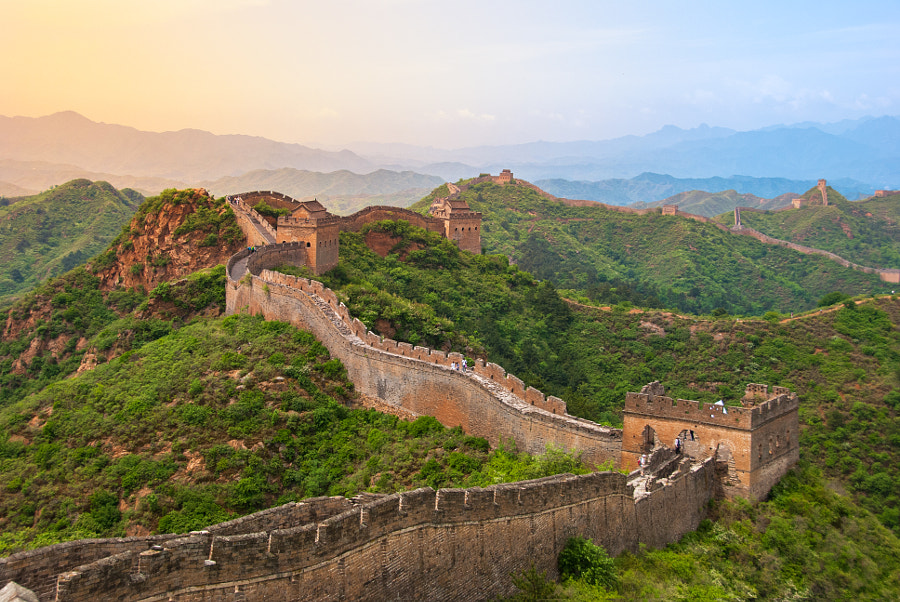 Great wall by César Asensio on 500px.com