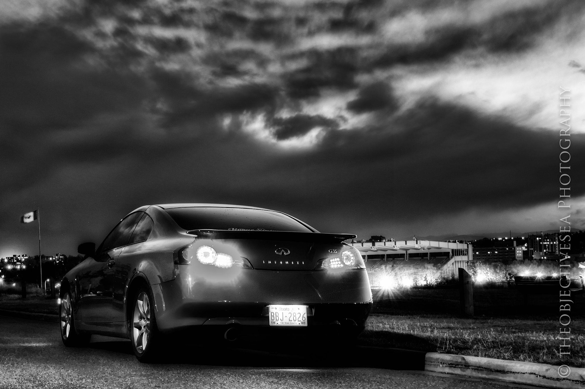 Photograph G35 Black and White by Kevin Smith on 500px