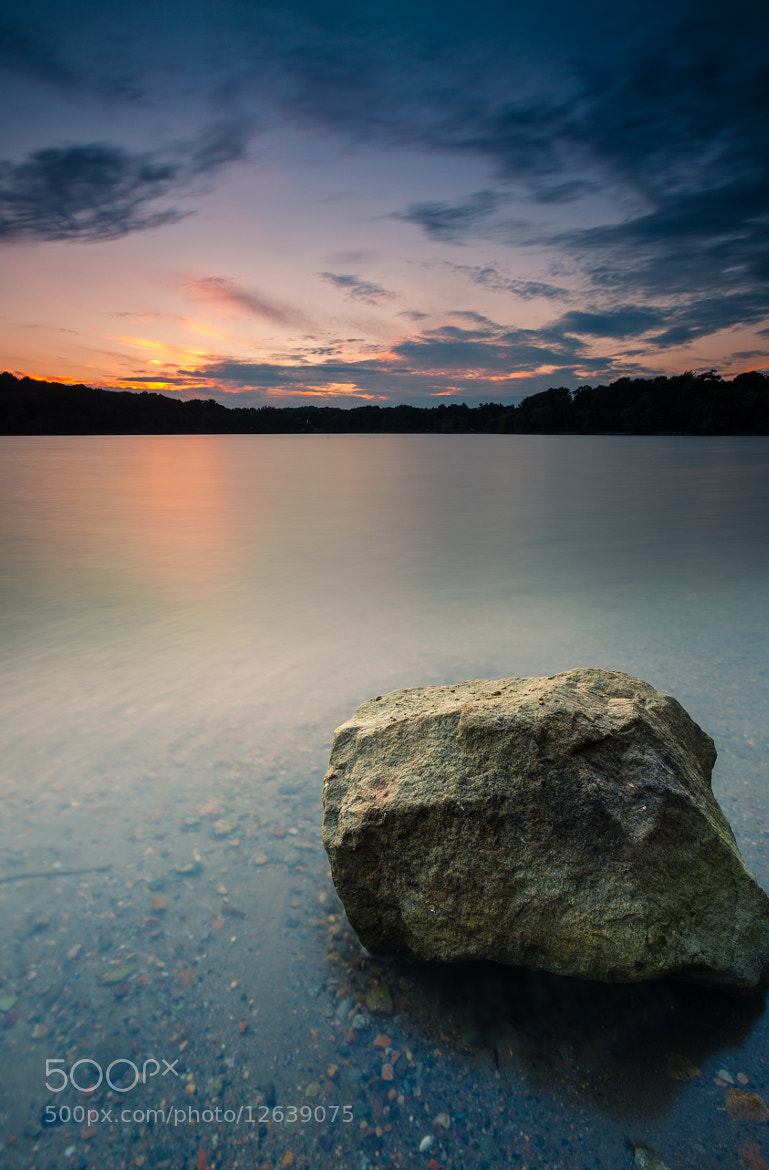 Photograph Boston's Jamaica Pond at Sunset by Rich Williams on 500px