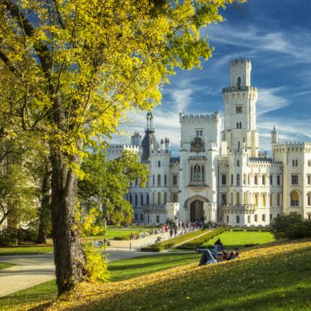 -- Hluboka Castle --