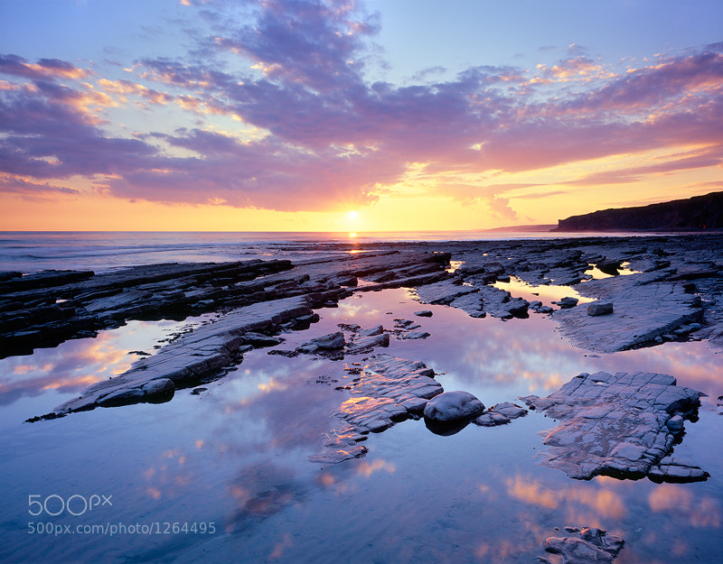 Photograph Traeth Mawr, Glamorgan Heritage Coast by Reversed Vision on 500px