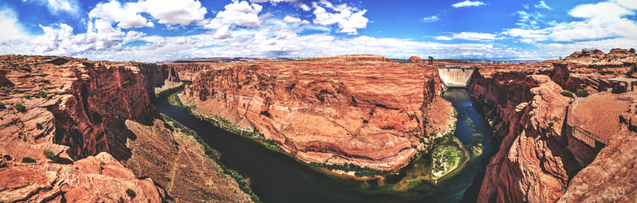 Glen Canyon Dam Overlook by Bart Rogiers on 500px.com