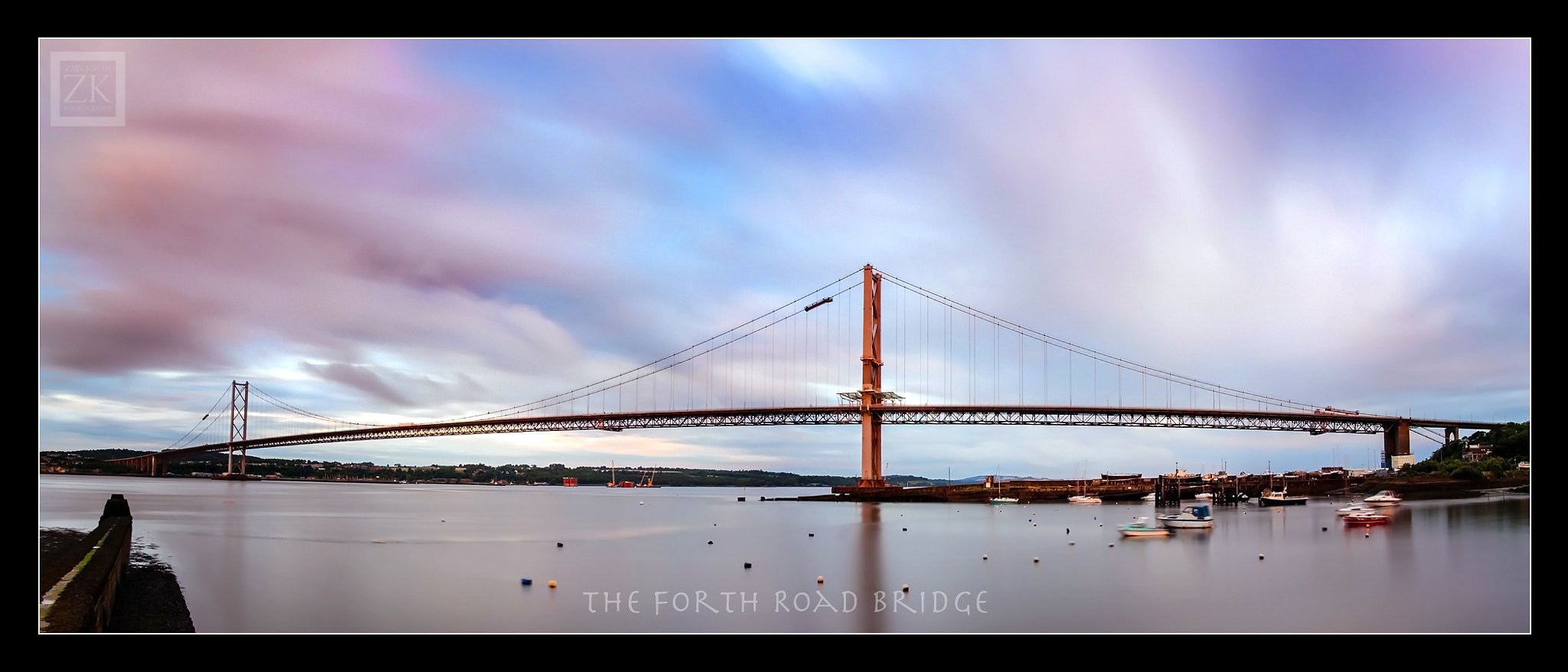Photograph The Forth Road Bridge by Zain Kapasi on 500px