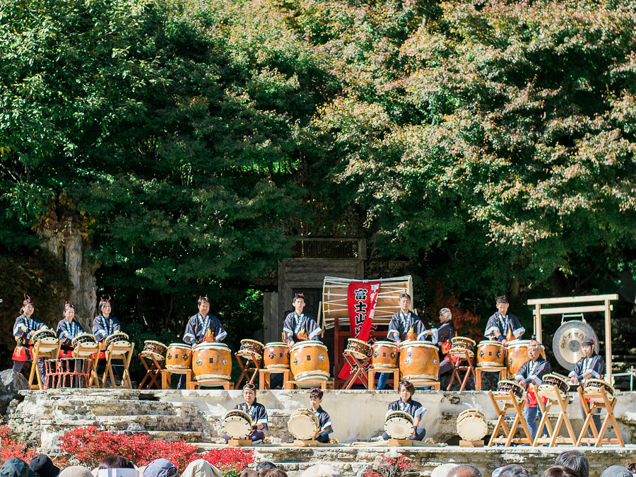 Taiko Drums in Itchiku Kubota Art Museum