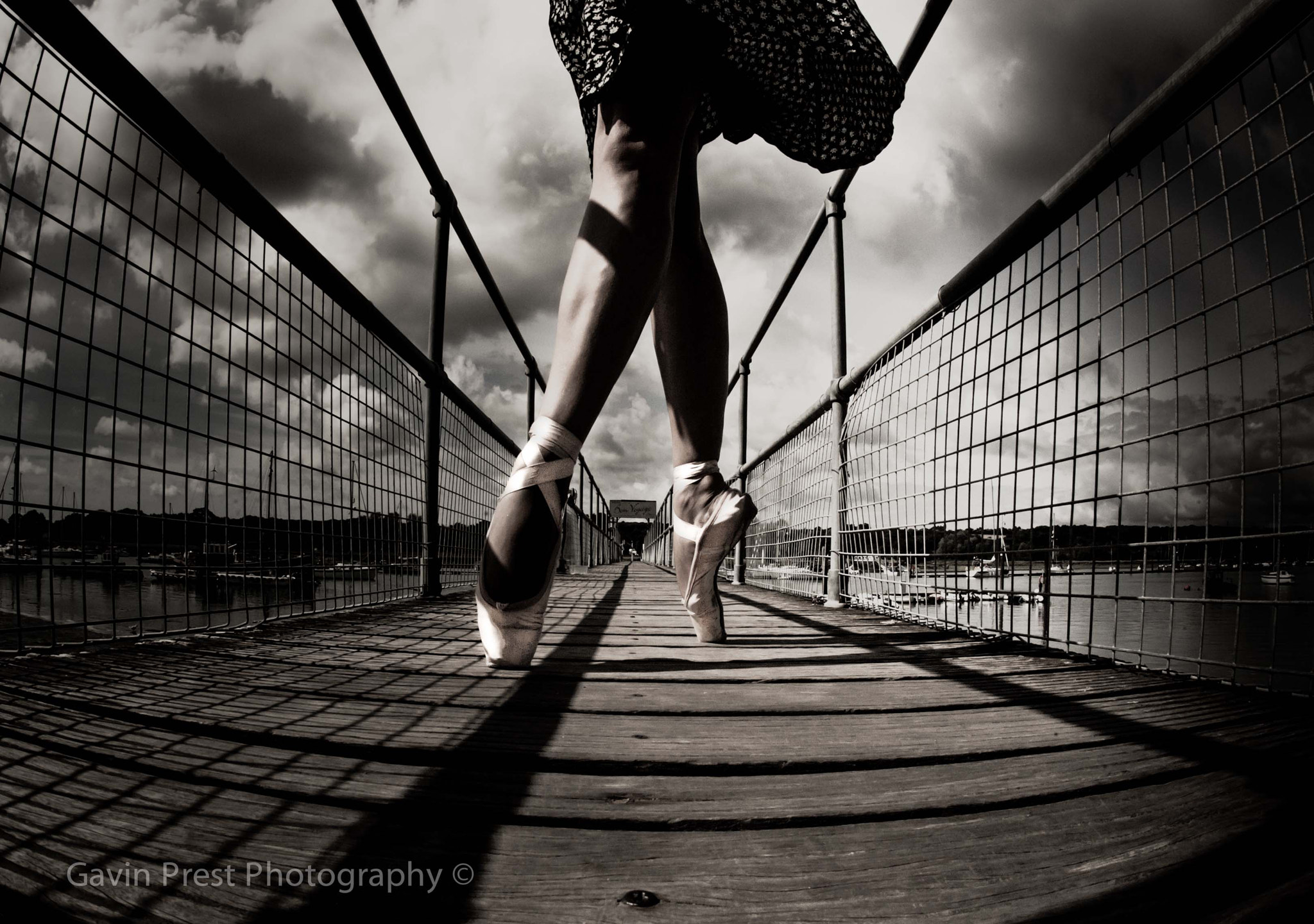 Photograph Urban Ballet bridge by Gavin Prest on 500px