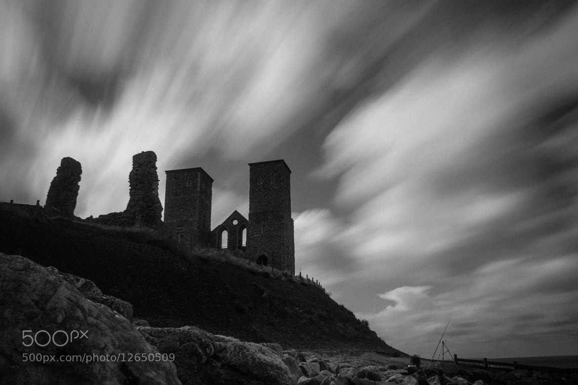 Photograph Reculver Fort by David Asch on 500px