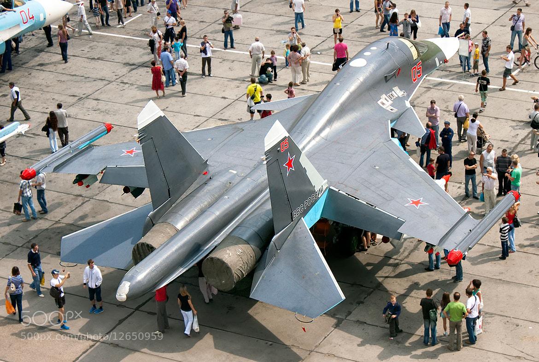 Photograph Su-34 by Sergey Chaikovskiy on 500px