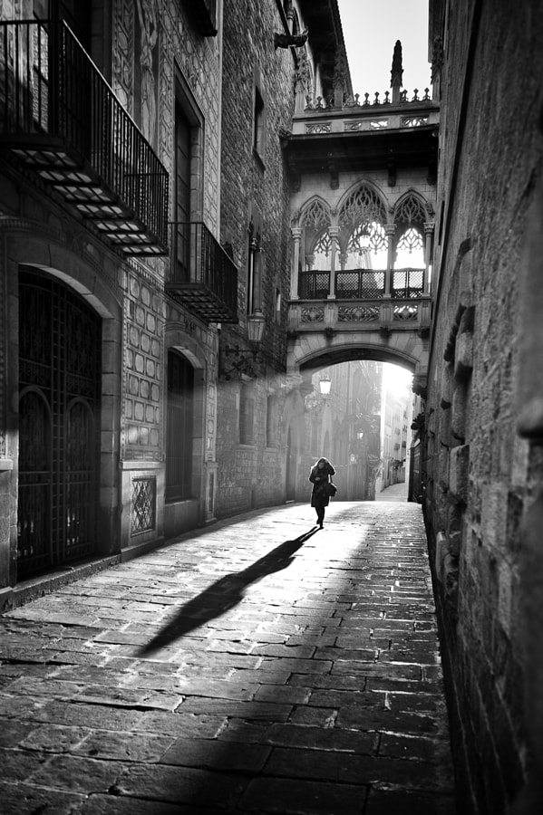 Gothic Quarters - Barcelona by Frank van Haalen on 500px.com