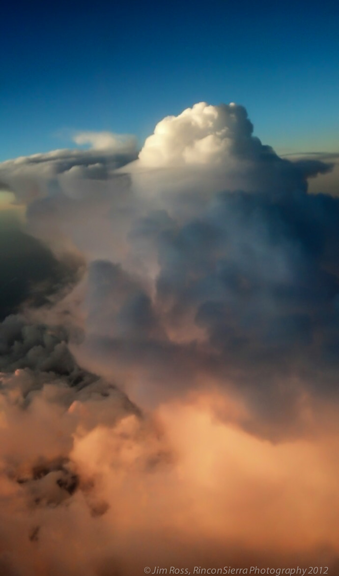 Photograph Glory at 37,000 feet!!! by Jim Ross on 500px