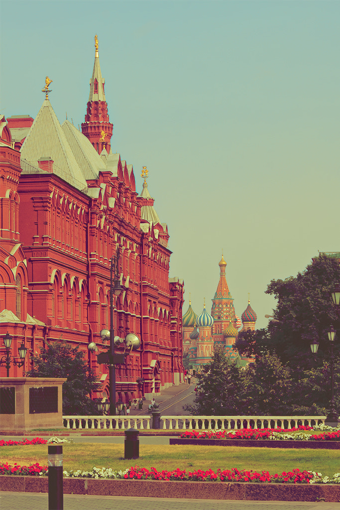 Photograph Moscow Postcards - Red Square by Eike Siemrodt on 500px