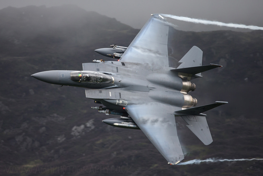 Photograph USAF F15e Strike Eagle by Tony House on 500px