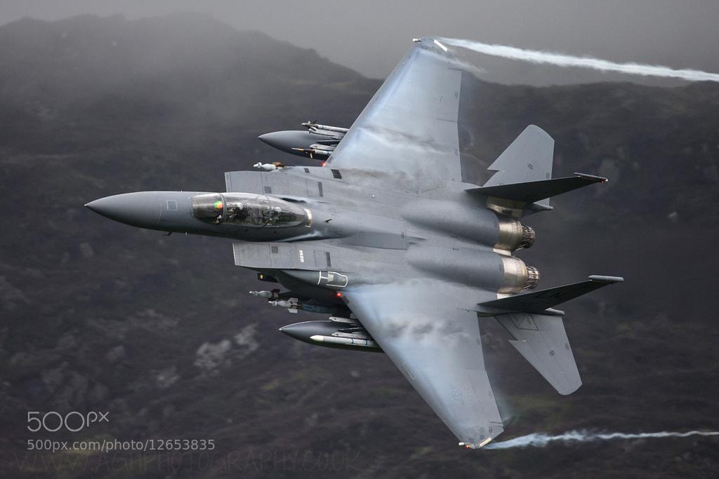 Photograph USAF F15e Strike Eagle by Tony House on 500px