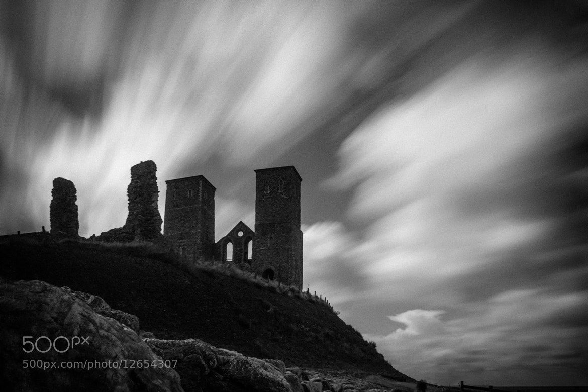 Photograph Reculver Fort (redux) by David Asch on 500px