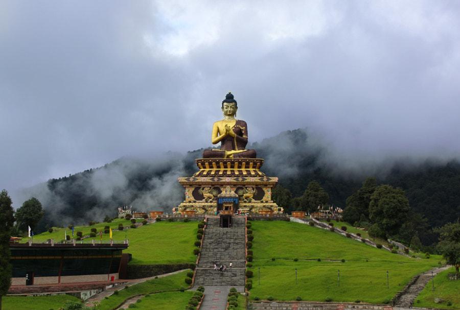 Budha at Tathagata Tsal Ravangla Sikkim