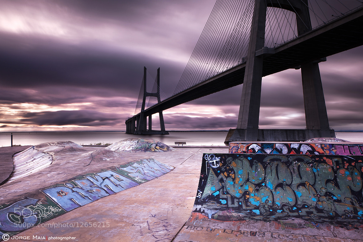 Photograph The skate park by Jorge Maia on 500px