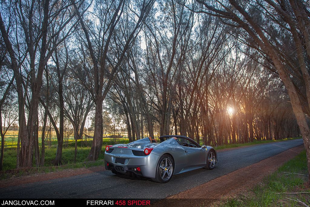 Photograph Ferrari 458 Spider by Jan Glovac on 500px