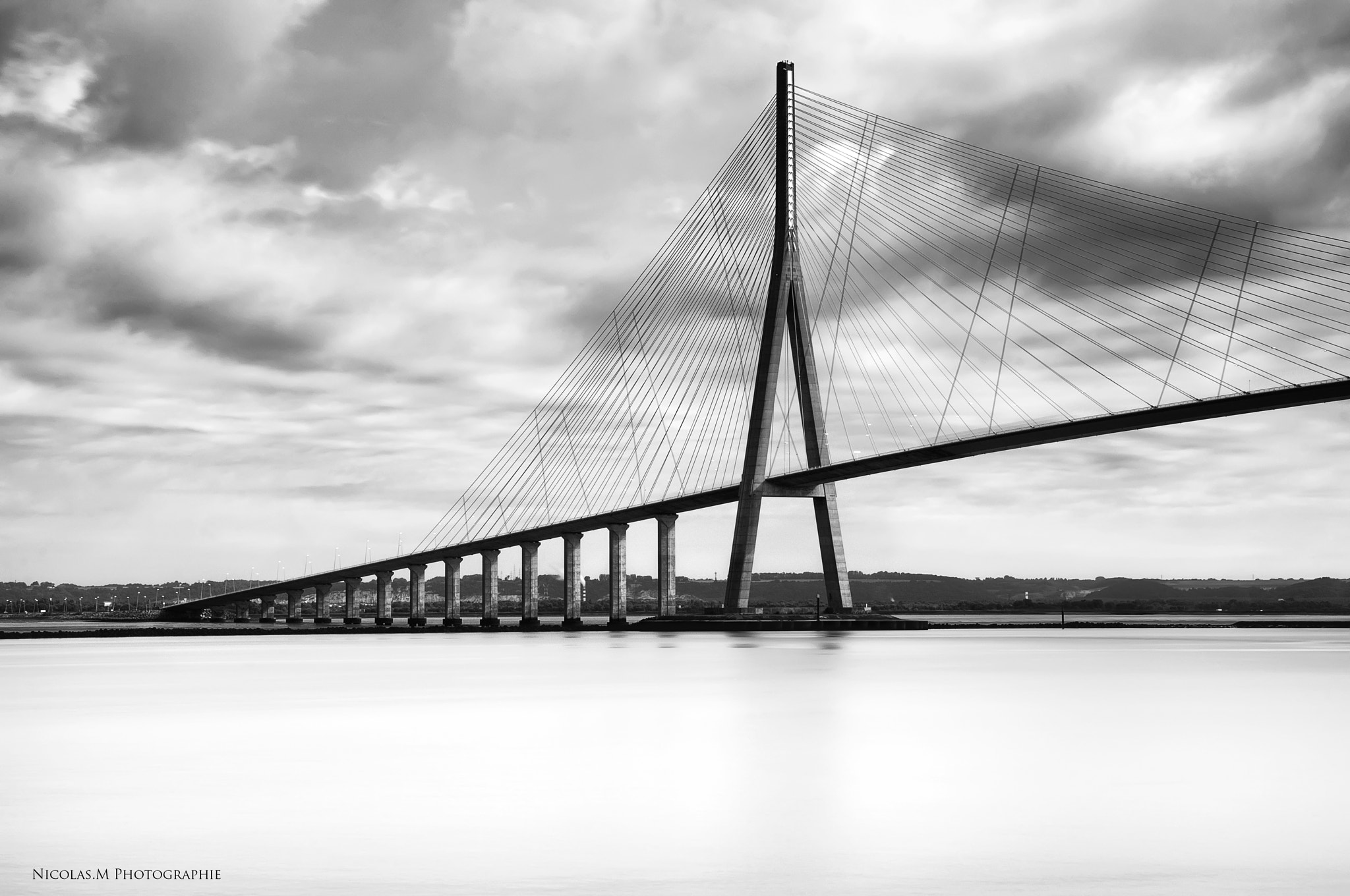Photograph Pont de Normandie by Nicolas.M  photographie on 500px
