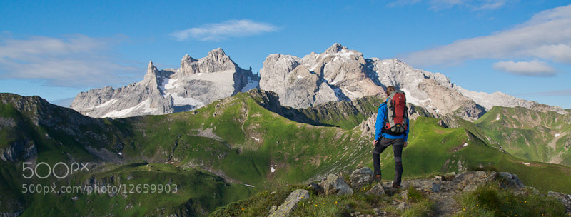Photograph Mountain Panorama by Johannes Netzer on 500px