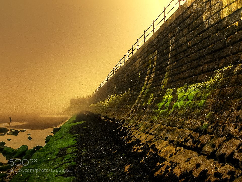 Photograph Mist In Scarborough UK by Garry Atkinson on 500px