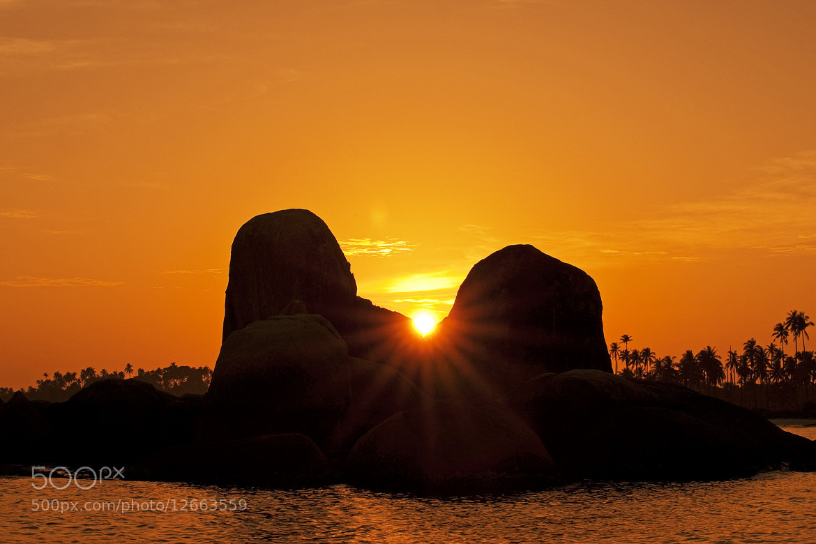Photograph - - Sunrise at Belitung - -  by SIJANTO NATURE on 500px