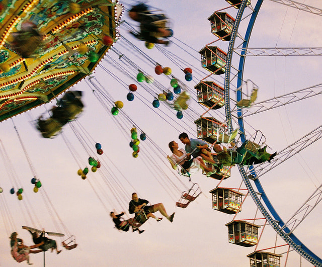 Photograph Circus Swing by Onur Yilmaz on 500px