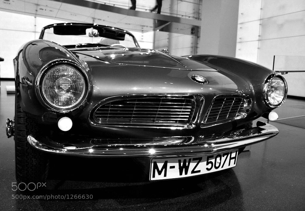 Photograph BMW 507 Roadster 1956 by Onur Yilmaz on 500px