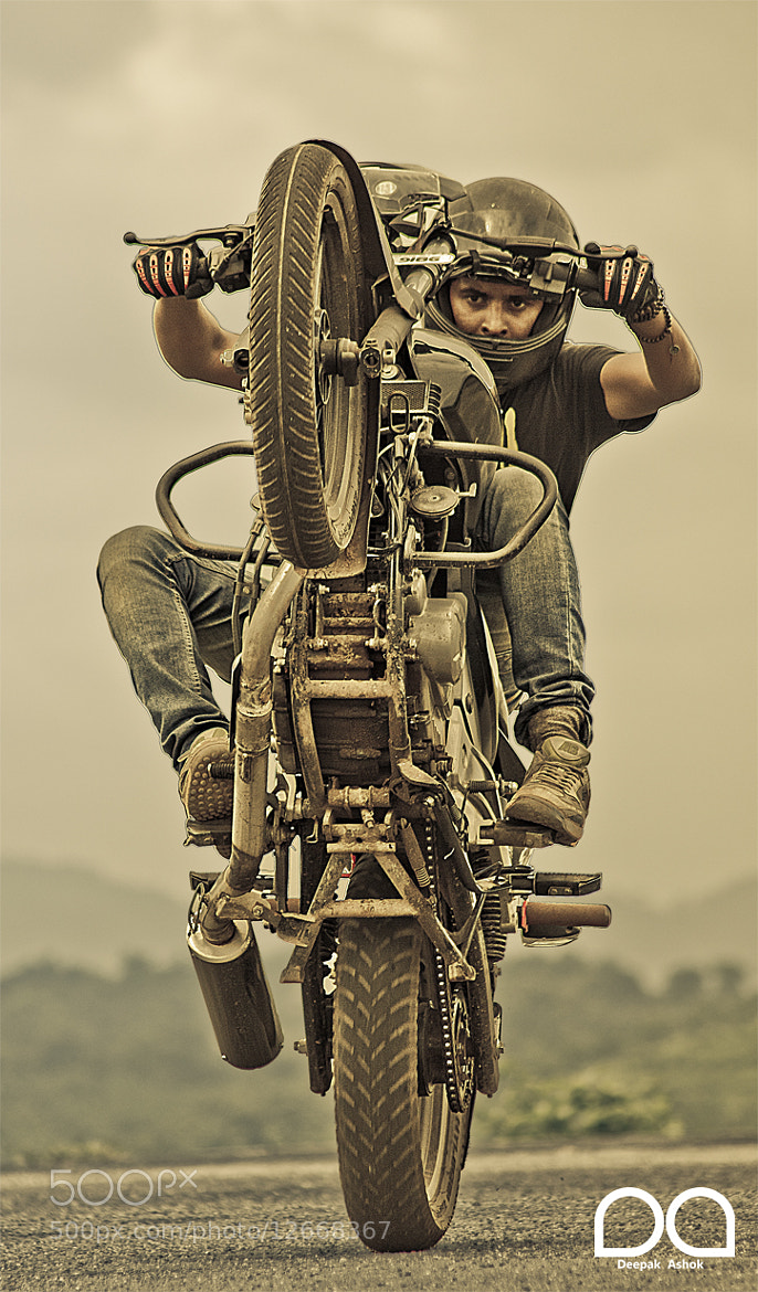 Photograph Freestyle Stunt Riding by Deepak Ashok on 500px